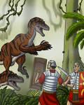 Raptors Attacking Romans