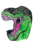 Tyrannosaurus rex in Marker