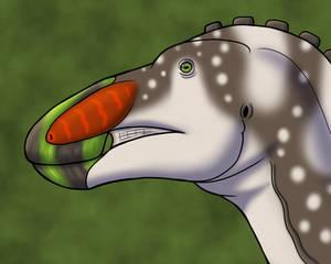 Edmontosaurus Headshot
