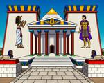 The Tomb of Antony and Cleopatra by TyrannoNinja