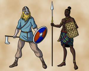 Warriors of the Ninth Century