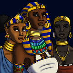 Daughters of the Nile by TyrannoNinja