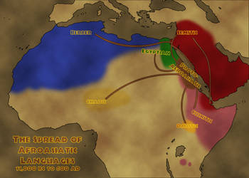 The Spread of Afroasiatic Languages