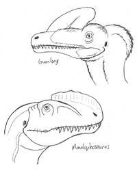 Crested Theropods of the Shishugou Formation