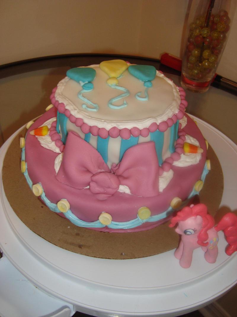 Pecan Pie Birthday Cake