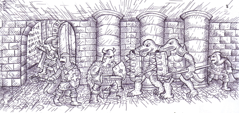 Dungeon do Tesouro by noobaka