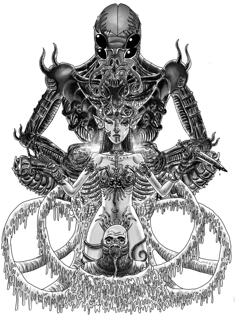 Alien Idol by noobaka