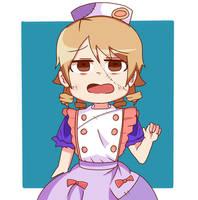Zombie nurse Nono by inryosui