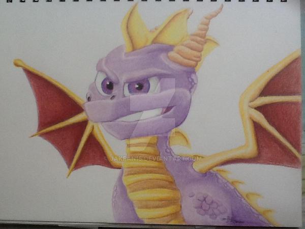 Spyro by Jakfan15