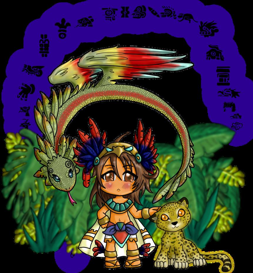 mexico chibi by sodokucobalto