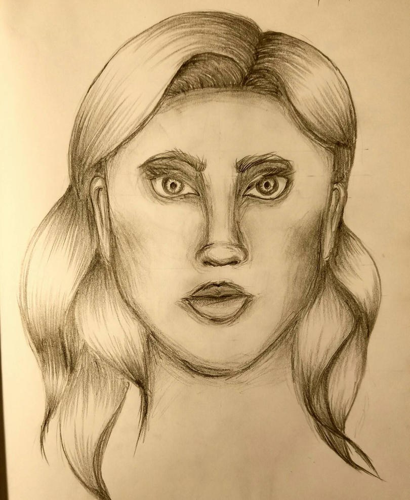 Female Portrait by SamanBrosefineIzzle