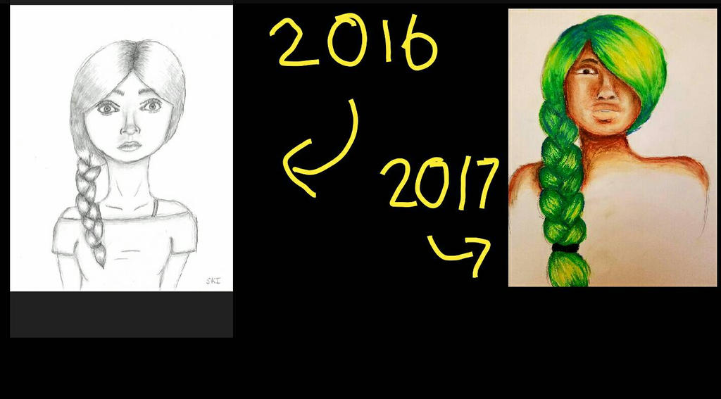 A lot can happen in a year! by SamanBrosefineIzzle