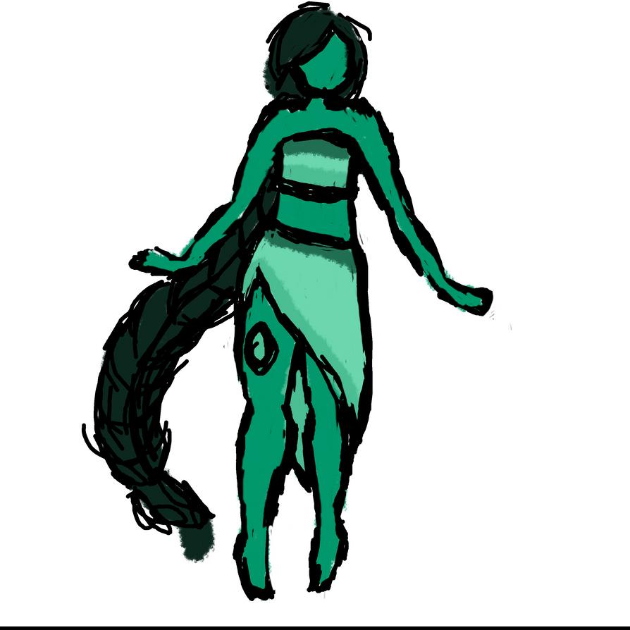 Gemsona: Jade by SamanBrosefineIzzle