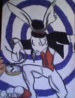 The White Rabbit by VioletWonderland