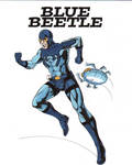 ~~~ Blue Beetle, Ted Kord- Color ~~~