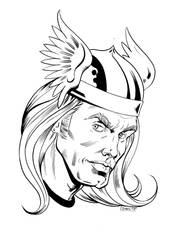 Thor (Marvel Comics) by FnkNY