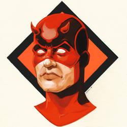 Daredevil (Marvel comic) by FnkNY