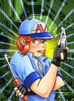 AV-TECH BADGE 2007 Full Color by Snigom