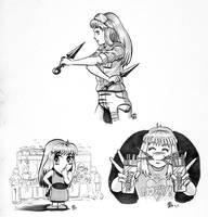 ANIME FEST Booklet Art by Snigom