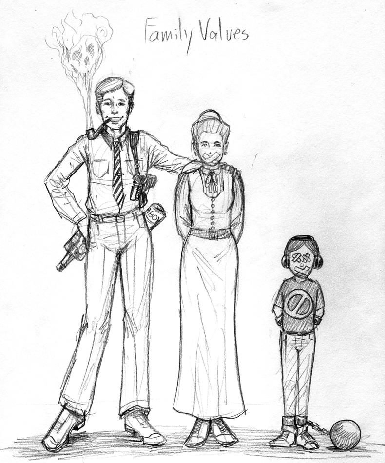 Family Values WIP by Snigom