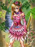 Fairy in the Vines