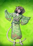 Tea Kimono