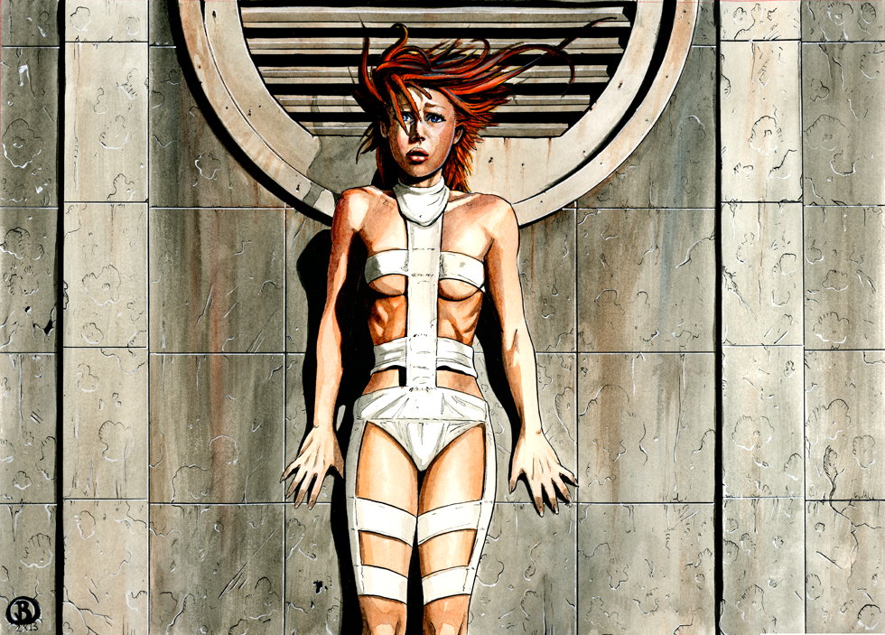 Crackle the fifth element actress