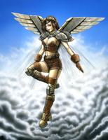 Broze Steam Angel by Snigom