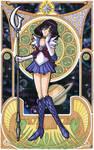 Sailor Saturn (Mucha)