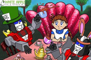 Transformer Tea Party by Snigom