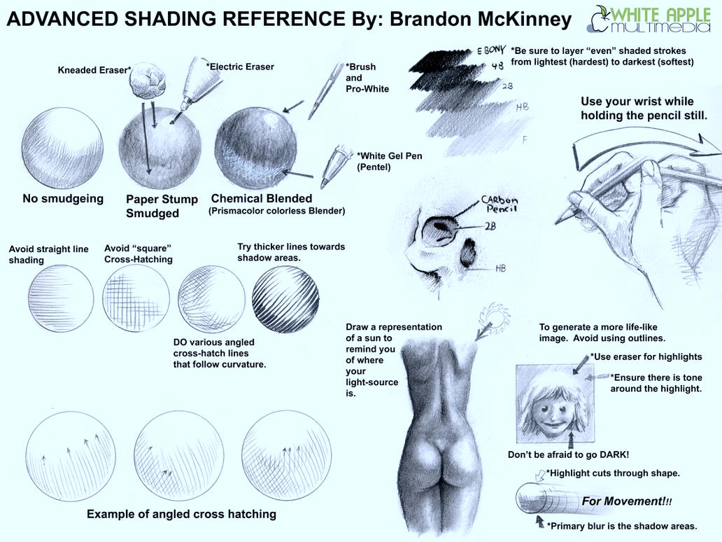 Photo Manipulation Techniques Character Design Process : Adanced shading techniques by snigom on deviantart