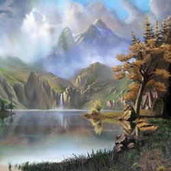 Holy Landscape by Snigom