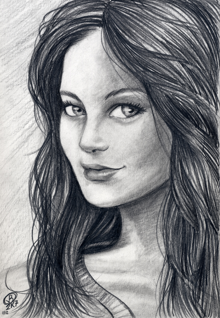 Sketch Of A Lady By Snigom On DeviantArt