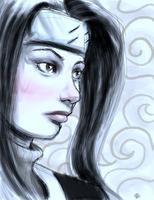 NARUTO: HAKU quick sketch