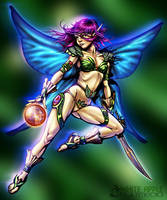 Fairy Warrior Final by Snigom