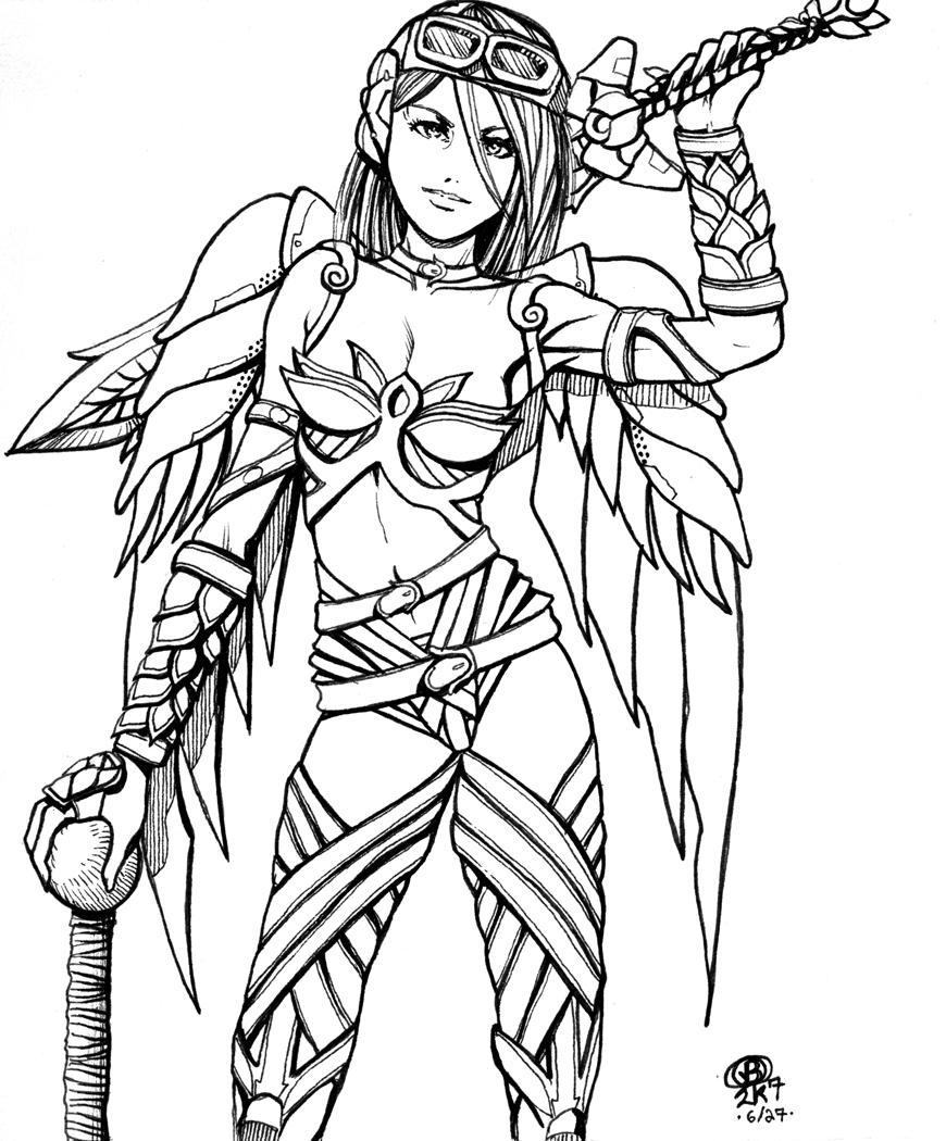 Line Drawing Knight : Knight by snigom on deviantart