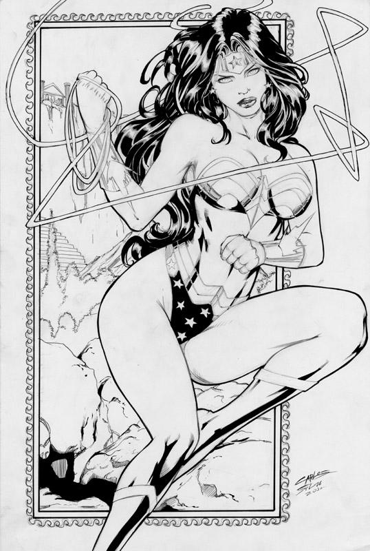 Carlos Silva - Wonder Woman by comiconart