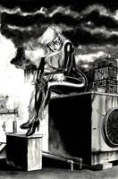 Jack Herbert:Black Cat by comiconart