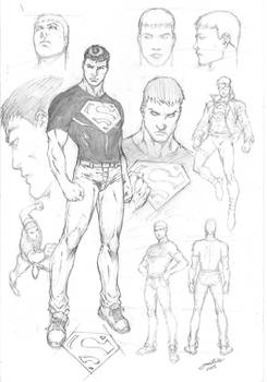 Superboy Character Study