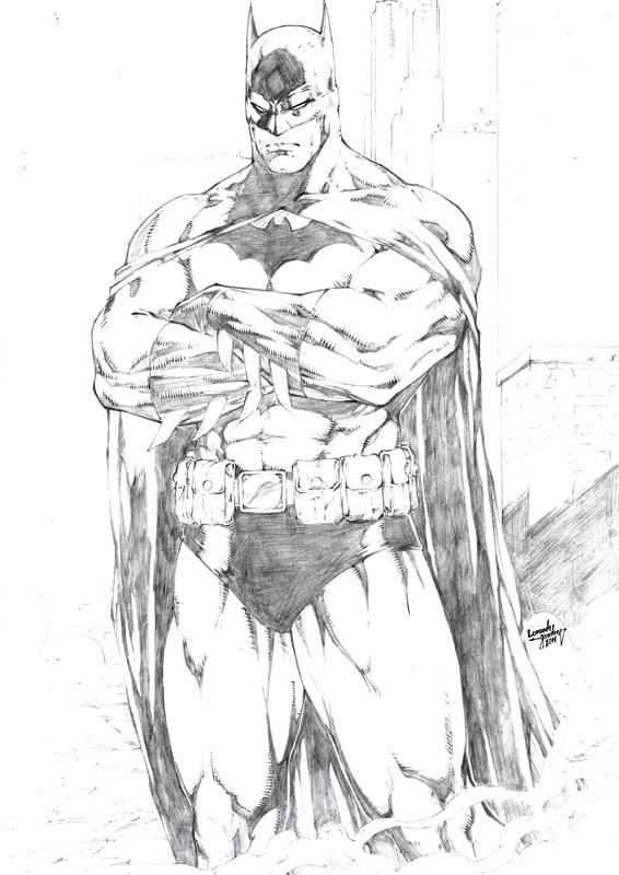 Leonardo Gondim:Batman by comiconart