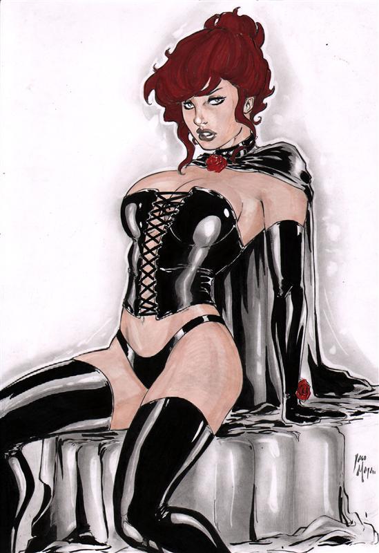 Iago Maia: Black Queen by comiconart