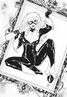 Iago Maia: Black Cat by comiconart