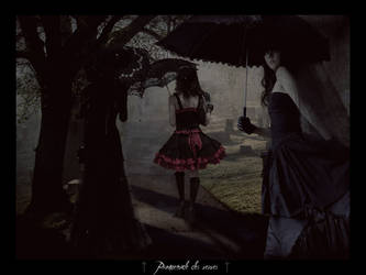 __Promenade des veuves__ by Silverwolf90