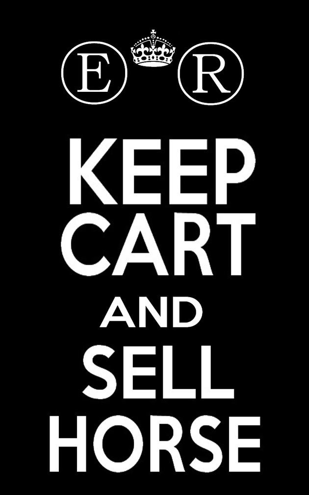 keep cart and sell horse by SrTw