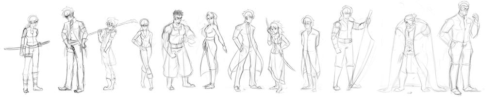Characters Sketch 1
