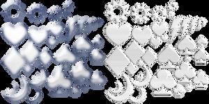 Plastic Gems Jewels (PNG)