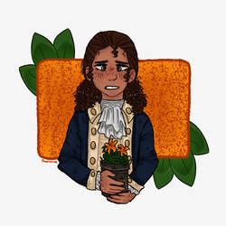 Orange Lilies by Charizmaz