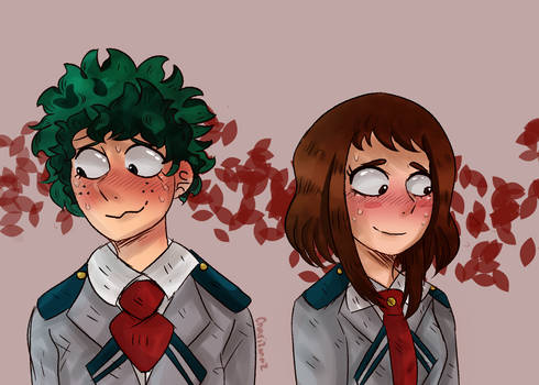 blushing contest