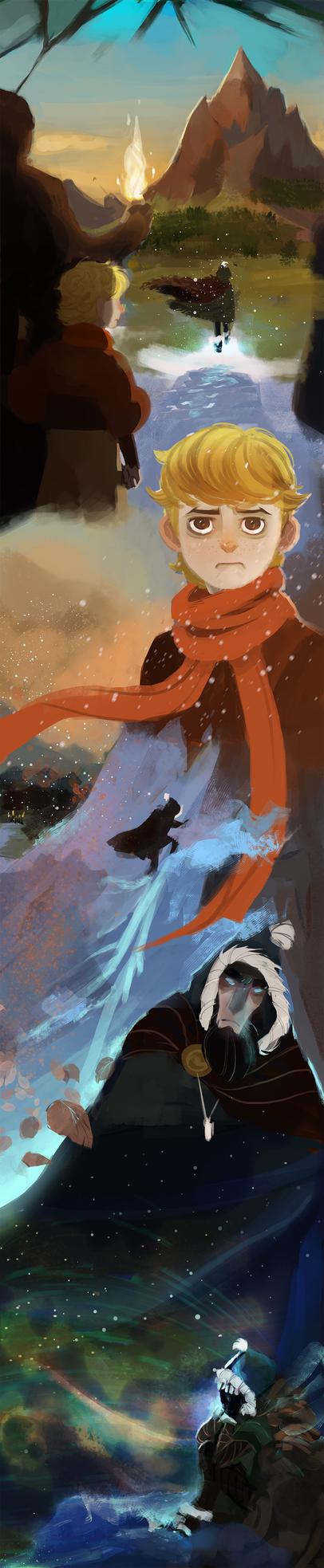 Frostblight:Saga (11) by michaeldoig