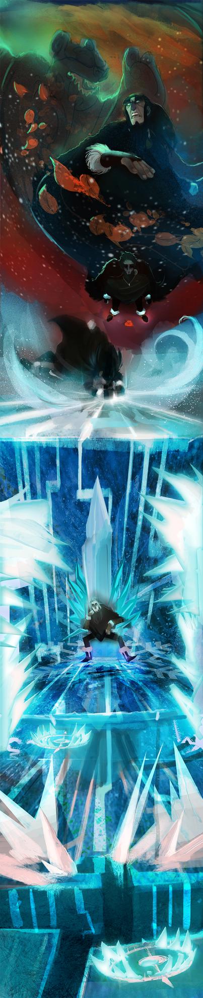 Frostblight:Saga (12) by michaeldoig